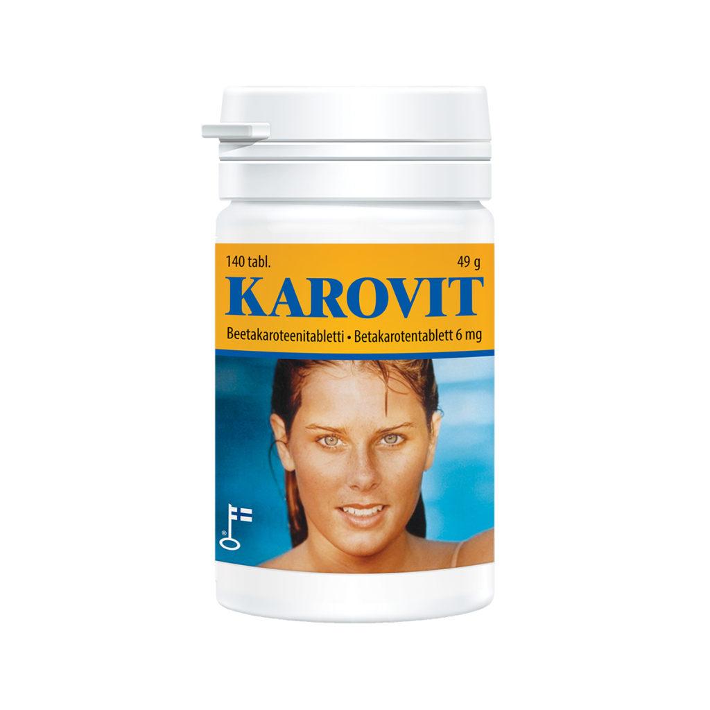 betakaroten tabletter biverkningar