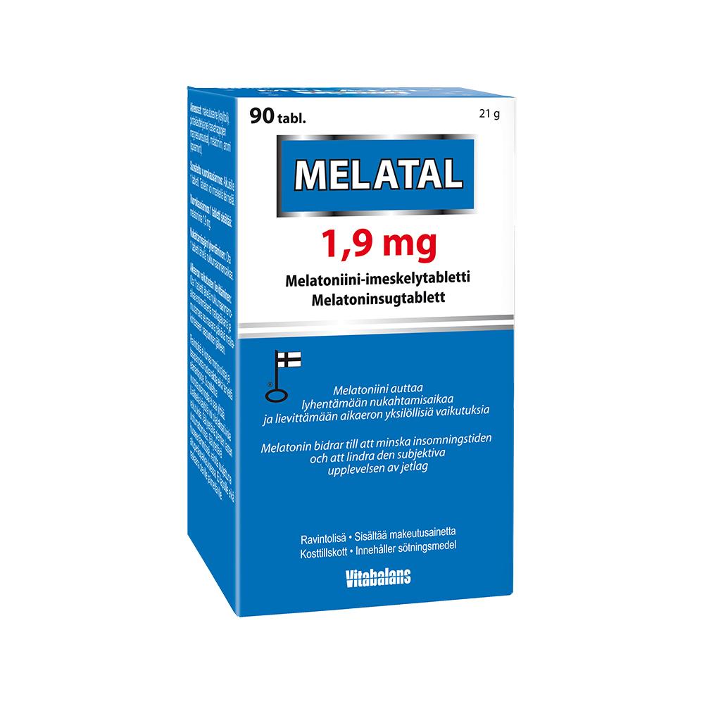 melatonin dosering vuxna