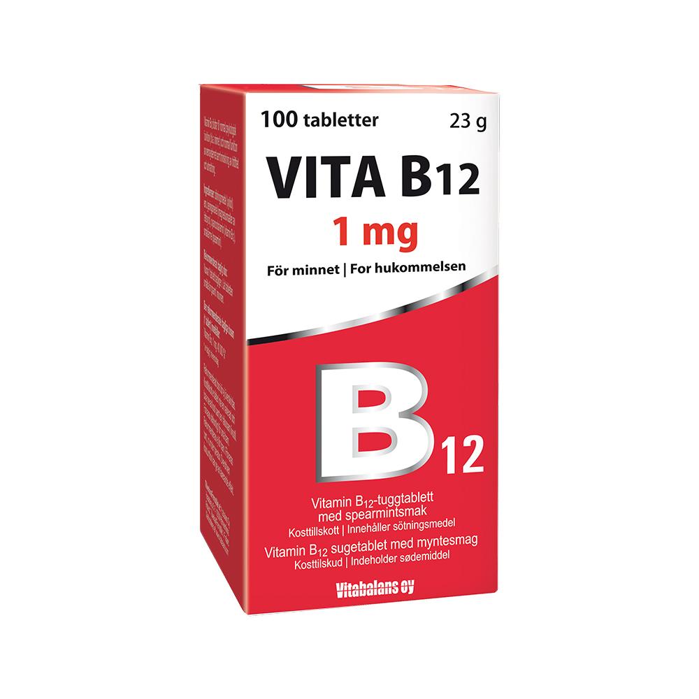 vitamin b12 biverkningar